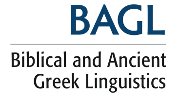 Biblical and Ancient Greek Linguistics